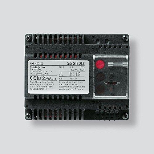 Siedle 1543653 Netzgleichrichter, NG 402-03