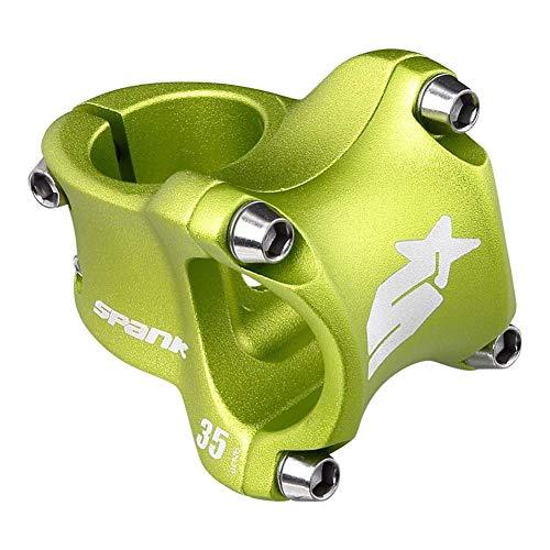 Spank Spike Race 2 Stem Vorbau Mountainbike/MTB Erwachsene, Unisex, Grün, 35 mm