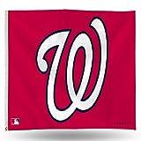Rico Industries MLB Flagge, 91 x 152 cm, Washington