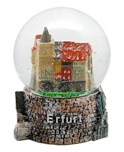 Minium Collection 30067 Schneekugel Souvenir Erfurt Krämerbrücke Erfurter Dom 65mm Durchmesser …