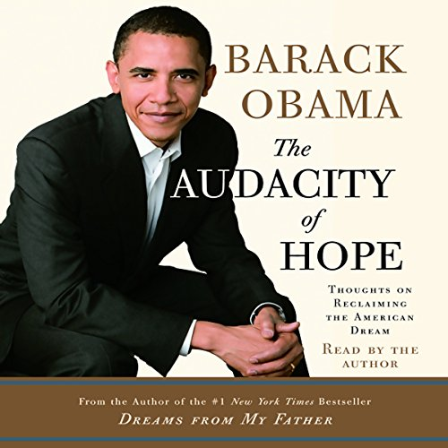 Page de couverture de The Audacity of Hope