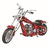 568 piezas de construcción para motocicleta, engranaje funcional, compatible con tecnología L**O.