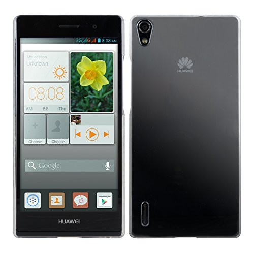 kwmobile Hülle kompatibel mit Huawei Ascend P7 - Handyhülle - Handy Hülle in Transparent