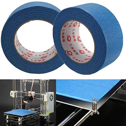MXBIN 50mmX 50M Blue Tape Maler Printing Masking-Tool 3D-Drucker Blue Tape Abdeckband for Reprap 3D-Drucker Hardware-Reparaturwerkzeuge