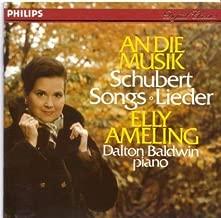 Schubert: An Die Musik by Elly Ameling