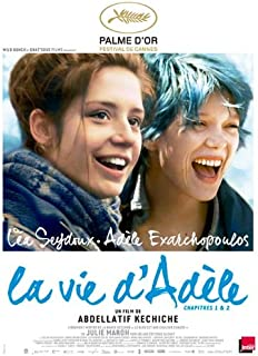 Blue is the Warmest Color (2013) 27 x 40 Movie Poster - French Style A
