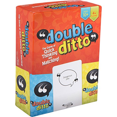 Inspiration Play Double Ditto Family Party Board Game For Teens