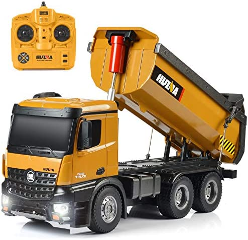 kolegend Remote Control Construction Dump Truck 1 14 Scale Full Functional RC Dump Truck Toy product image