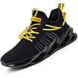 Damyuan Scarpe da Fitness Uomo Casual Jogging Trekking Trail Running Ginnastica Palestra Sportive Sneakers 42 (Nero)