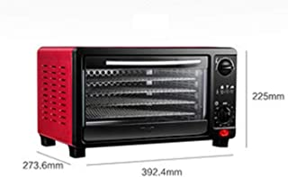 Food Dehydrators, Fruit Dryer Machine Automatic Dehydrator with Adjustable Temperature Control Timer with 5 Trays for Jerk...