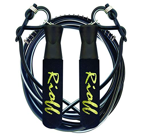 Rioff Skipping Rope for Men Women Gym Training, Exercise and Workout Adjustable