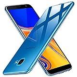 Peakally Samsung Galaxy J4 Core Hülle, Soft Silikon Dünn Transparent Hüllen [Kratzfest] [Anti Slip] Durchsichtige TPU Schutzhülle Case Weiche Handyhülle für Samsung Galaxy J4 Core-Klar