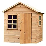 Garden Games Evermeadow Wooden Playhouse 51' H x 41' W x 38' D (Playhouse)