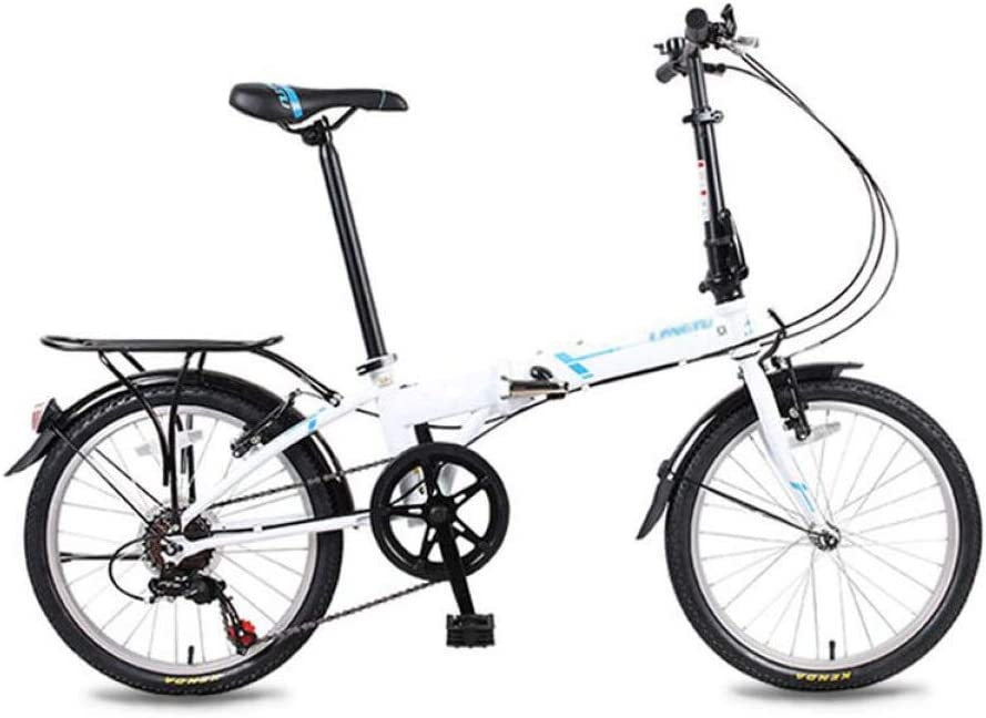AOHMG Folding Bike Lightweight City Baltimore Mall Adult Financial sales sale 6-Speed Foldable