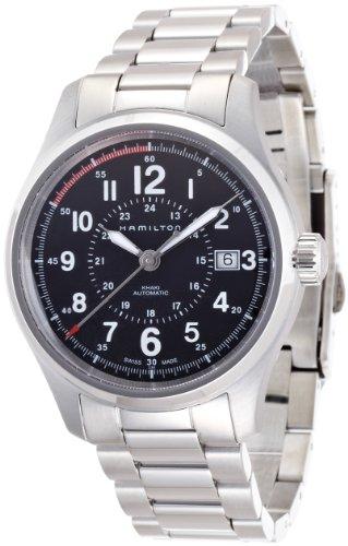 Hamilton Reloj Analogico para Hombre de Automático con Correa en Acero Inoxidable H70595133
