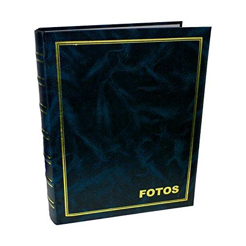 Acan Álbum de Fotos Color Azul con 4 Anillas