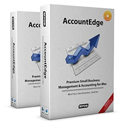 Myob Accountedge 2009 for Mac Includes Network Edition