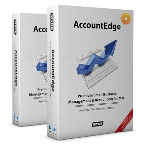 Price comparison product image Myob Accountedge 2009 for Mac Includes Network Edition
