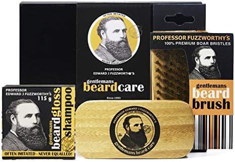 Professor Fuzzworthy Limited Edition Big Beard Care Kit Beard Shampoo Boar Bristle Beard Brush product image