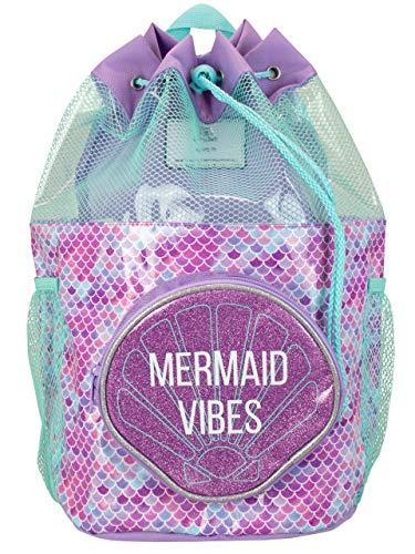 Harry Bear Kinder Badetasche Meerjungfrau lila