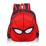 YUIP Nesloonp Mochila con bolsa 3D, Mochila man, Mochila impermeable, Mochilas con diseño de héroe cómico Mochilas para regalo, Mochila Spiderman Mochila con bolsa de felpa 3D