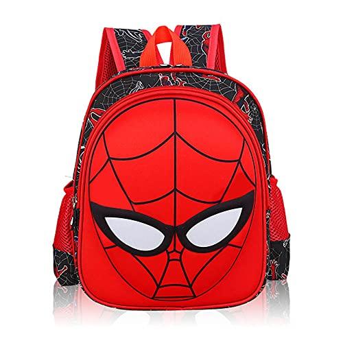 Children Backpack,Wasserdichter man Rucksack 3D Super Hero Rucksack Spiderman, Langlebiges und einzigartiges Design