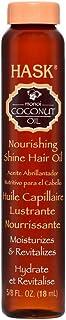 HASK Monoi Coconut Oil Nourish Shine Oil Vial, 18 milliliters