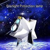 DBSCD Sterne Projektor Lampe Nachtlicht Projektor LED Lampe, 3 Farben Dimmbar für Spielzimmer, Heimkino oder Nachtlicht Ambiente, künstlerischer und Heller