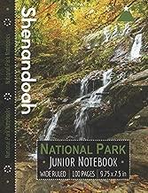 Shenandoah National Park Junior Notebook: Wide Ruled Adventure Notebook for Kids and Junior Rangers