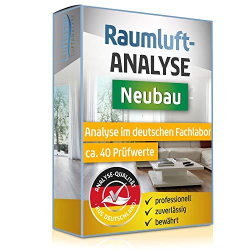 Raumlufttest – Luftanalyse auf 40 Schadstoffe bei Neubau und Renovierung – professionelle Analyse im deutschen Fachlabor