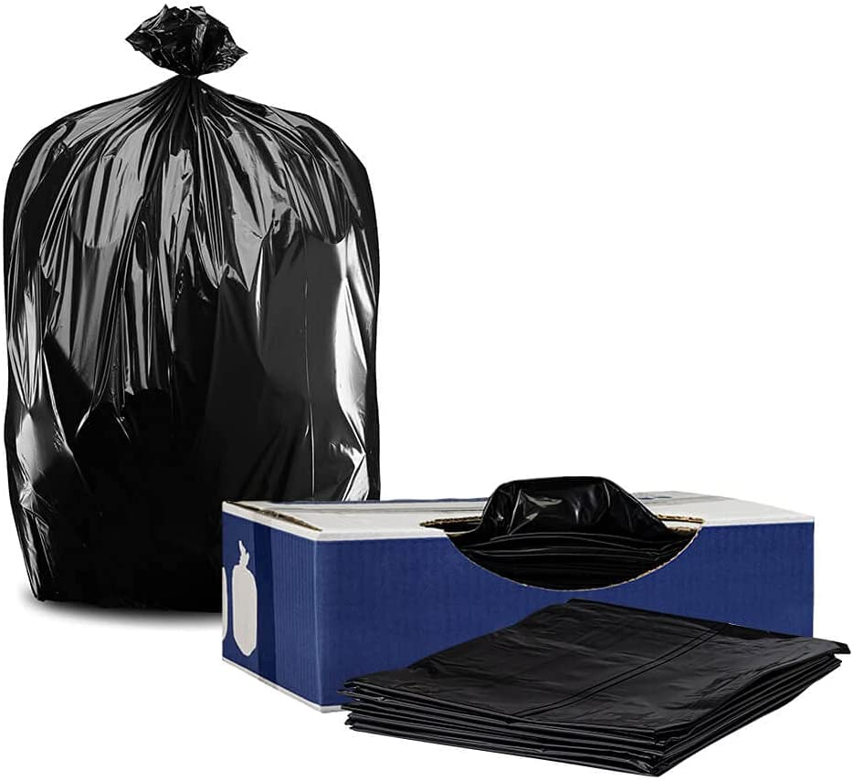 Plasticplace T55612BK 55 Reservation Max 67% OFF Gallon Trash Bags 40
