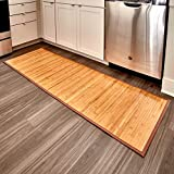 InterDesign Bamboo Floor Runner, 24-Inch by 72-Inch, Natural