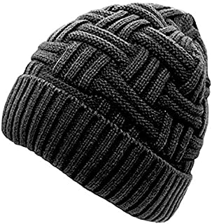 Gajraj Winter Warm Knitted Woolen Skull Cap for Men & Women