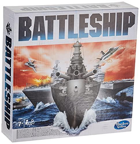 Battleship Classic Brettspiel Strategiespiel ab 7 Jahren für 2 Spieler