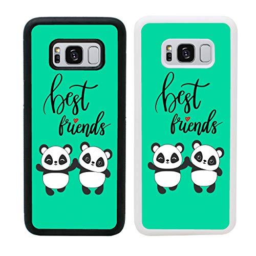 I-CHOOSE LIMITED Mejores Amigos Funda para Samsung Galaxy S8 Cubierta de Smartphone Parachoques de Protección para G950