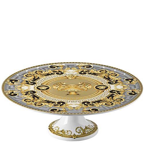 Versace Prestige Gala - Plato para tarta con pie, 33 cm
