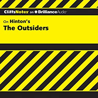 The Outsiders: CliffsNotes audiobook cover art