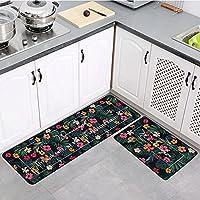家庭用カーペットキッチンカーペットマットトイレドアマットバスルームオスマン帝国機械洗えるキッチンフロアマット50 * 160cm M