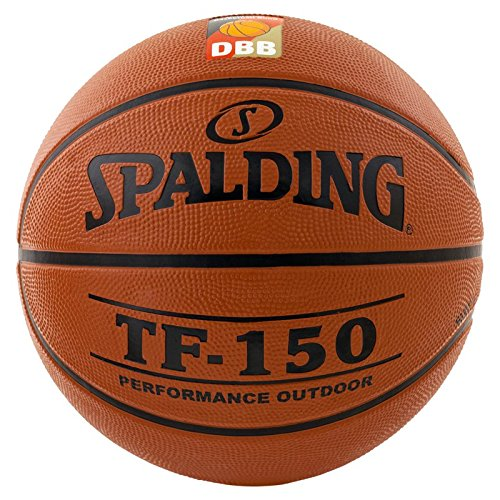 Spalding Basketball TF150 DBB Out 83-102z, Orange, 5