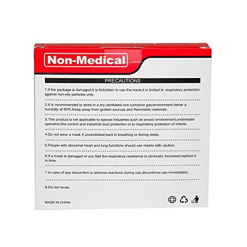ISN mask2 - FFP2 / KN 95 Atemschutzmaske, staubdicht, einzeln verpackt - Atmungsaktive 5-Lagen-Maske CE-zertifiziert -10er Packung. - 5