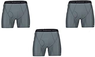 Men's Give-n-go Grey Boxer Brief 3 Pack