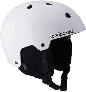 white sandbox helmet