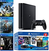 $1300 » 2019 Playstation 4 PS4 Slim 1TB Console + Playstation VR Headset + Playstation Camera + 8 Games Bundle
