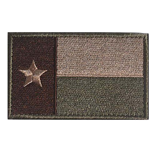 GGG Texas Flag Modern Swat Military Patch Tape Army Morale Badge Armband Grün
