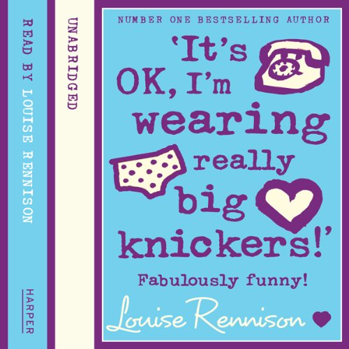Confessions of Georgia Nicolson (2) – 'It's OK, I'm wearing really big knickers!' audiobook cover art