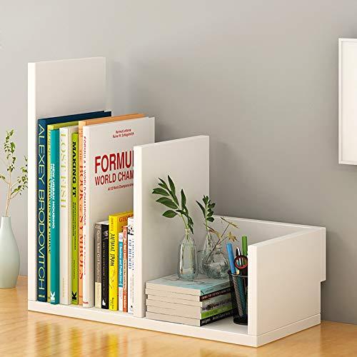 WEWE Tablero Almacenamiento,Madera Librería Almacenaje Estanterías Estantería Dormitorio Infantiles Display Estante Escritorio Encimera Estantería