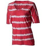 Columbia Summer Breeze - Camiseta para Mujer Rojo Coral Bloom XS