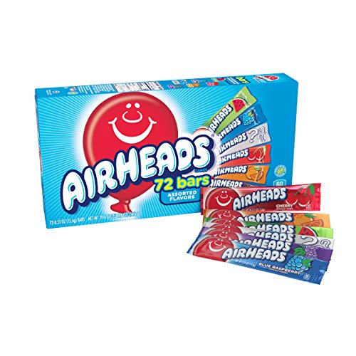 72-count Airheads Candy Bars Variety Bulk Box Only $10.99 (Retail $14.60)