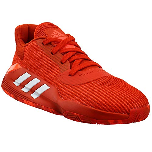 adidas Men's Pro Bounce 2019 Low Basketball Team Orange/White/Solar Orange 9.5