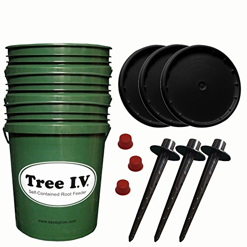 Tree I.V. Fill & Haul 3-pk   Portable When Full   Lids & Plugs Included   Feed Everything Everywhere